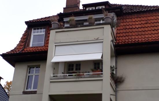 Balkon-Markise in Göttingen von Seeckts Bauelemente