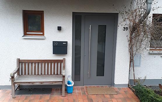 Kompotherm Haustür mit Glaselement in Göttingen von Seeckts Bauelemente