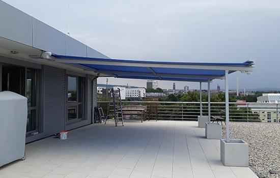 Große Pergolamarkise in Göttingen von Seeckts Bauelemente