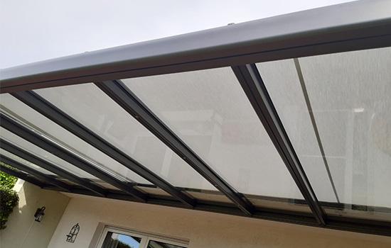 Terrassendach in Göttingen installiert von Seeckts Bauelemente und Service