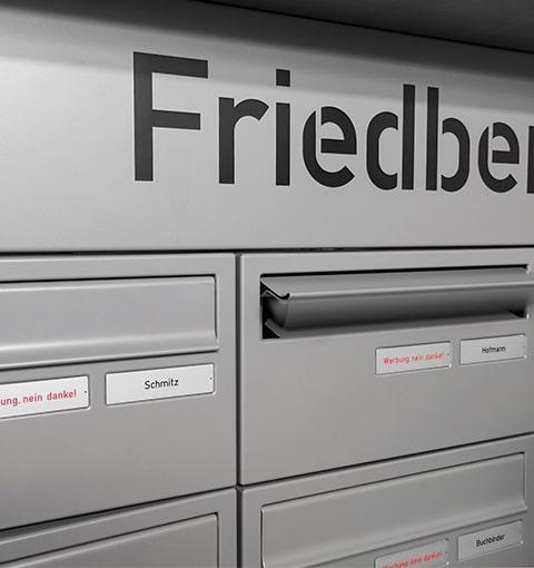 Briefkästen myRENZbox von Seeckts in Göttingen
