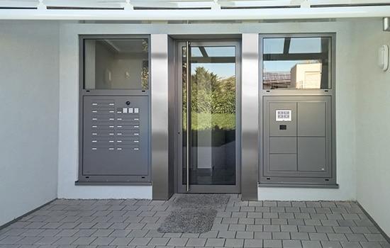 Montage von Briefkastensysteme durch Seeckts Bauelemente in Göttingen