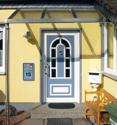Haustür in blau von Seeckts in Göttingen