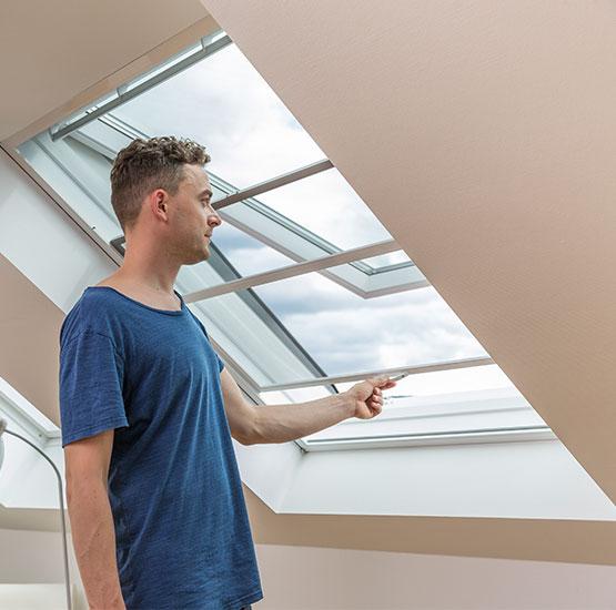 Insektenschutz für Dachfenster von Seeckts Bauelemente in Göttingen