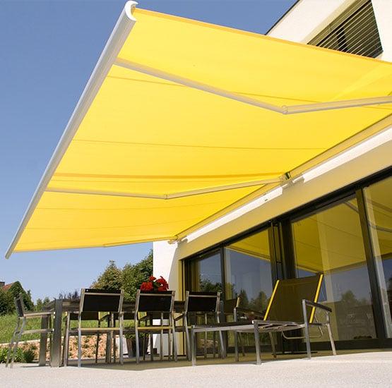 Markisen für die Terrasse kaufen bei Seeckts Bauelemente in Göttingen
