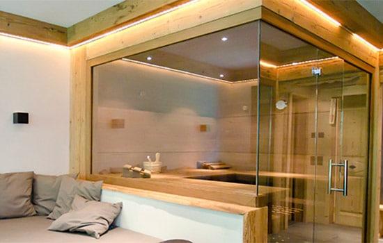 Saunabau: Saunakabinen kaufen und einbauen von Seeckts Bauelemente in Göttingen