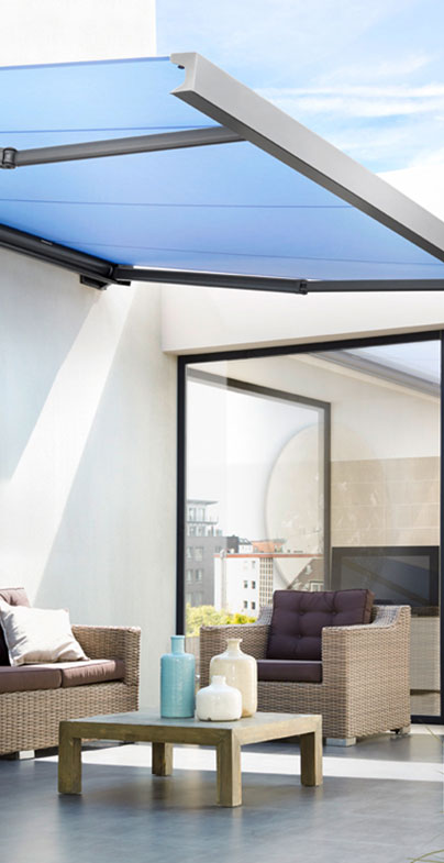 Terrassenüberdachung Einbau von Seeckts Bauelemente in Göttingen