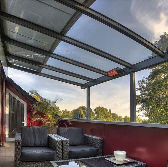 Einbau von Glasüberdachung von Seeckts Bauelemente in Göttingen