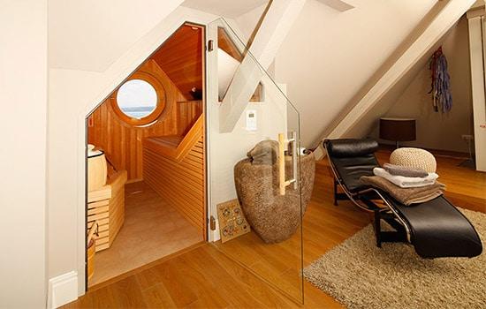 Sauna für Dachschrägen von Seeckts Bauelemente in Göttingen