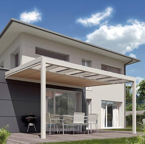 Glasdach für die Terrasse von Seeckts in Göttingen