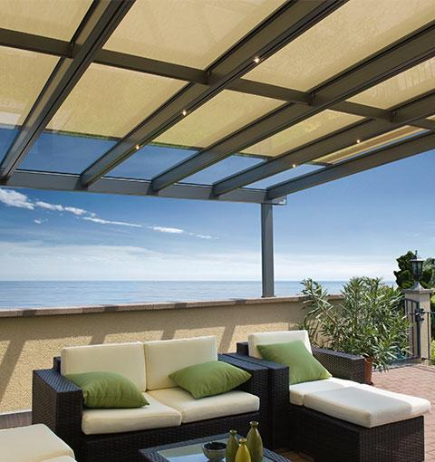Glasüberdachung mit Sonnenschutz von Seeckts in Göttingen