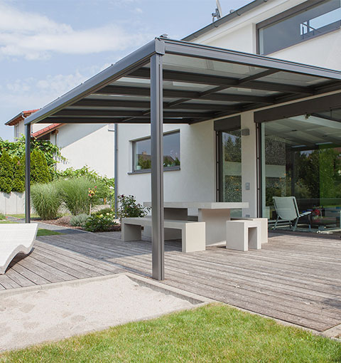Terrassendach Terrado von Seeckts in Göttingen