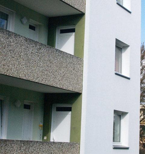 Wohnungstür von Seeckts in Göttingen